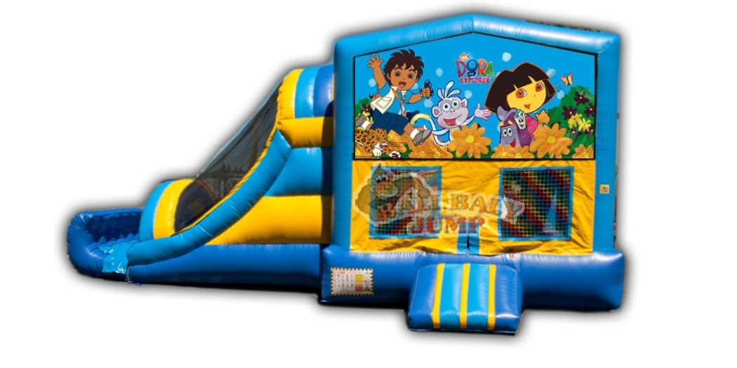 Dora & Diego 3-in-1 Combo Jumper
