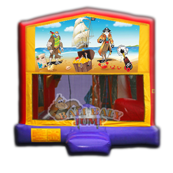 Pirates 4-in-1 Combo Jumper