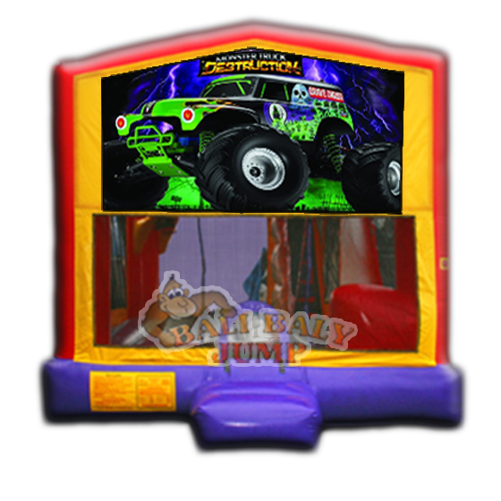 Monster Truck 4-in-1 Combo Jumper