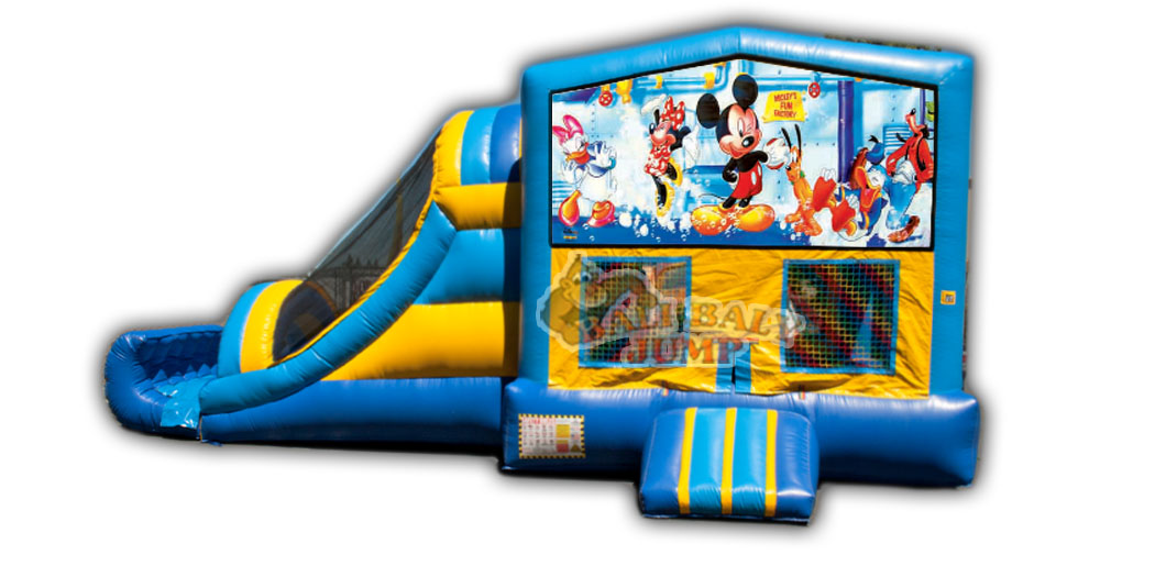 Mickey 3-in-1 Combo Jumper
