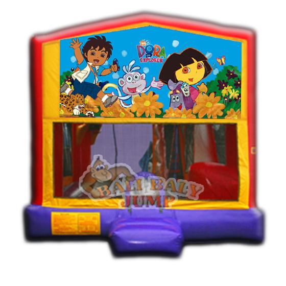 Dora & Diego 4-in-1 Combo Jumper