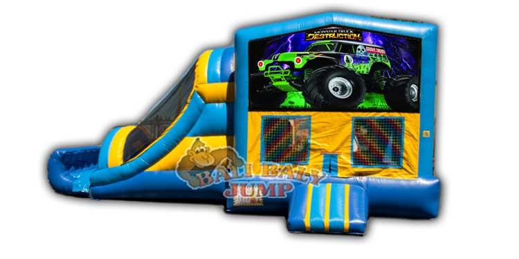 Monster Truck 3-in-1 Combo Jumper