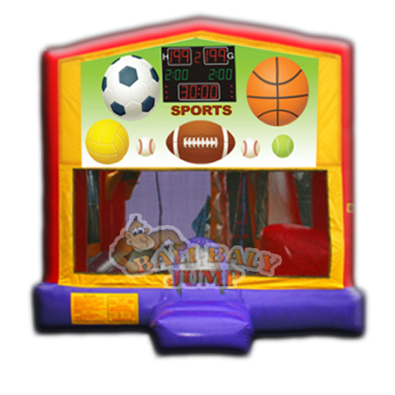 Sports 4-in-1 Combo Jumper