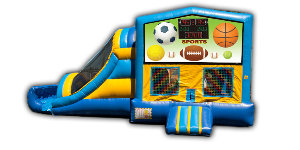 Sports 3-in-1 Combo Jumper