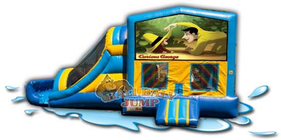 Curious George 3-in-1 Combo Jumper