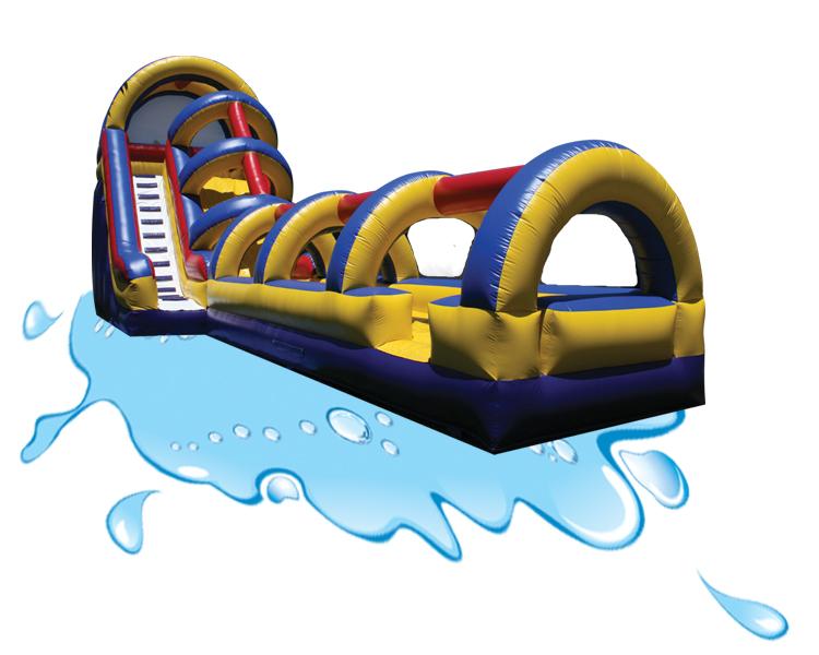 1 Water Slide with slip  slide